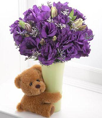 Spedire e consegnare fiori ed orsacchiotti di peluche in for Design del mazzo online