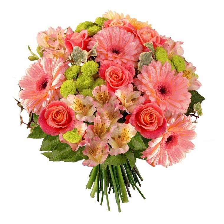 bouquet misto rosa