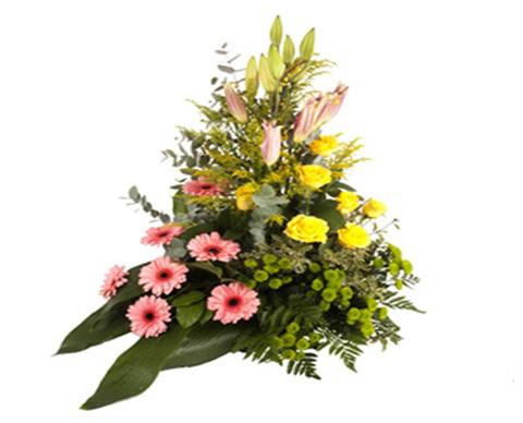Mazzo Di Fiori Per Funerale.Efiorista Online In Italia Ti Consegna Corone Cuscini E Fiori Per
