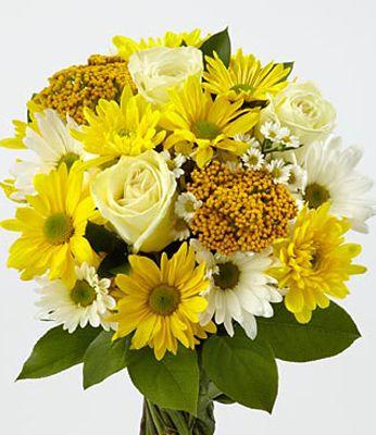 fiori gialli mazzo